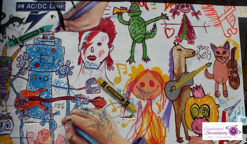 Melbourne Street Art ACDC Lane Crayola 2018