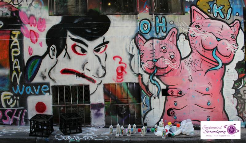 Melbourne Street Art Upper West Side Precinct