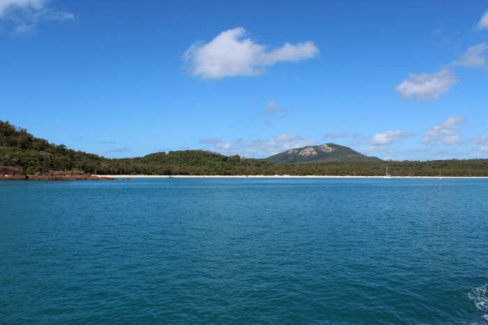 Last View Of Whitehaven Beach