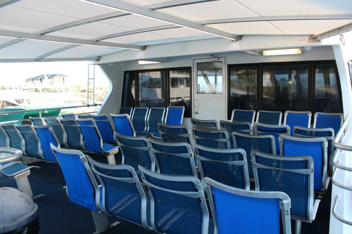 The Exterior Seating On Cruise Whitsundays