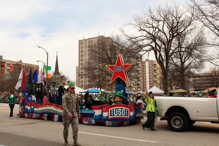 St Patrick's Day USO