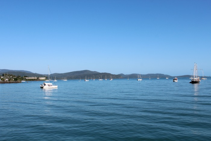 Departing From Port Of Airlie