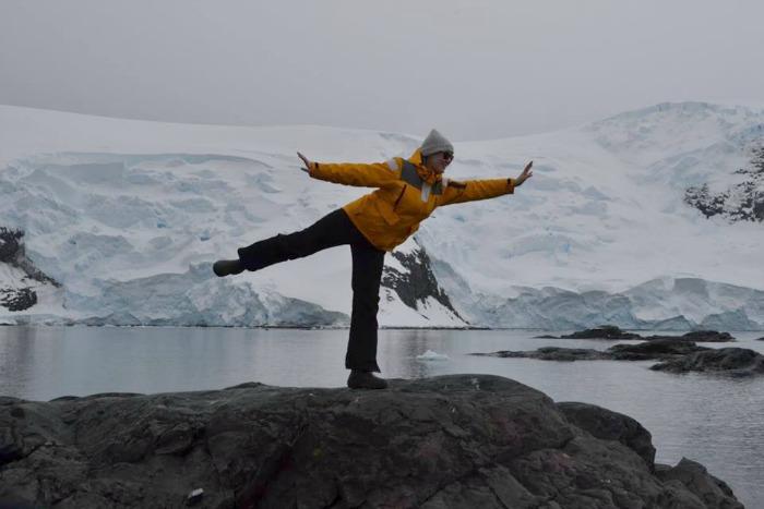 Edi In Antarctica