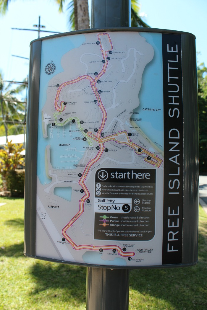 Hamilton Island Free Shuttle