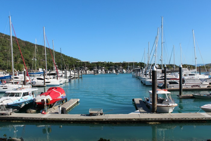 Hamilton Island Marina Views