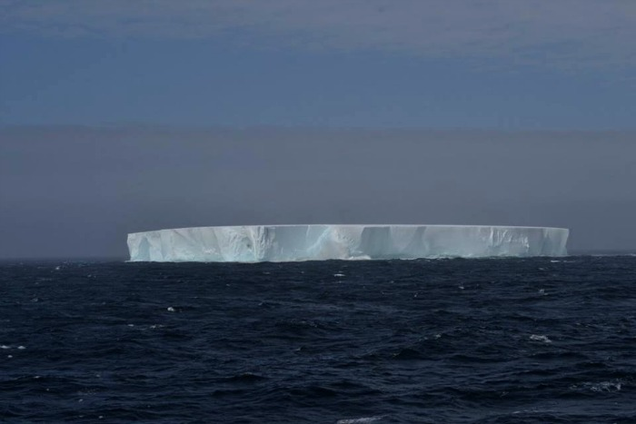 Iceberg Right Ahead