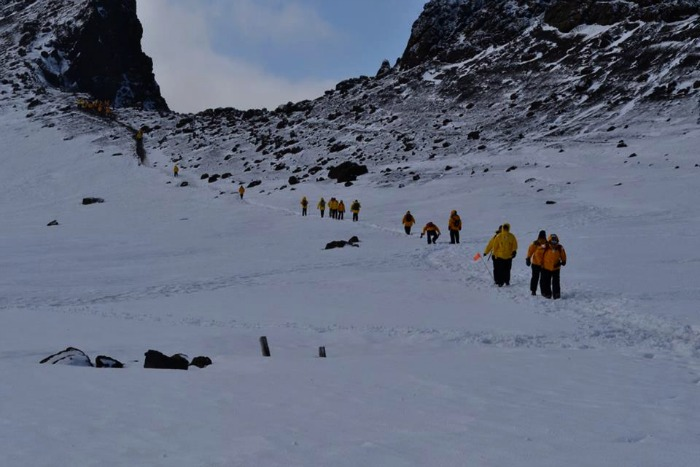 On The Expedition In Antarctica