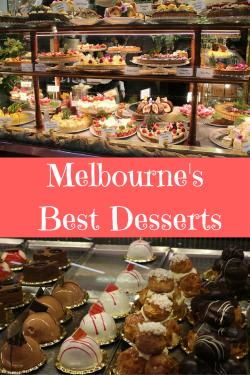 Melbourne's Best Desserts