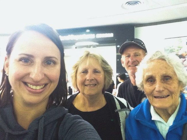 Heading Off To NZ With My Parents And Nan