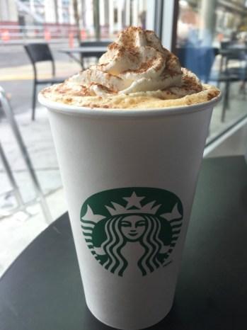 Pumpkin Spice Latte Starbucks