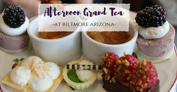 Biltmore Tea Court: Phoenix's Grandest Afternoon Tea