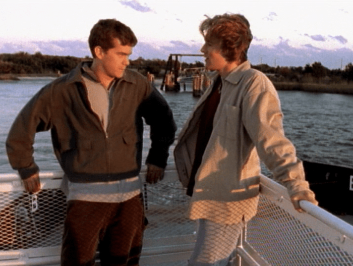 Pacey & Dawson On Ferry