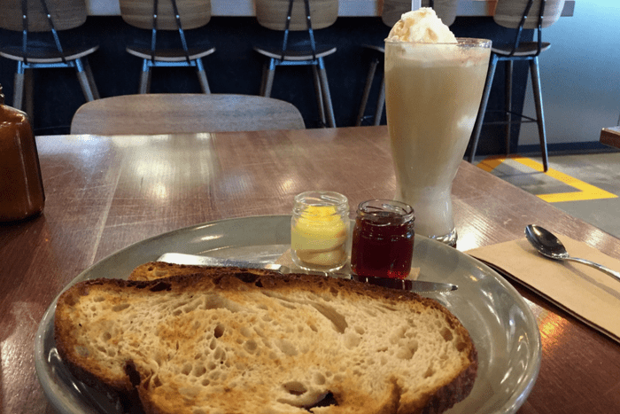 Sourdough Toast Space Kitchen Canberra