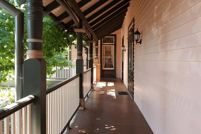 Grange Bellinzona Accommodation Balcony