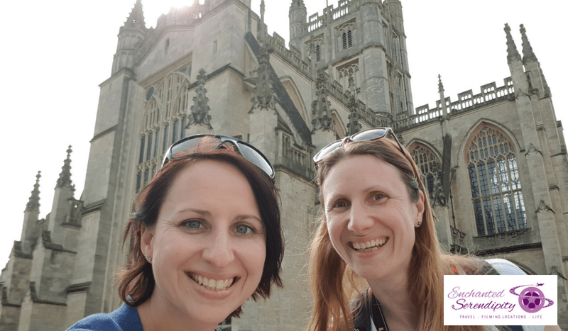 Becky And I Having A Photo Op At Bath Abbey