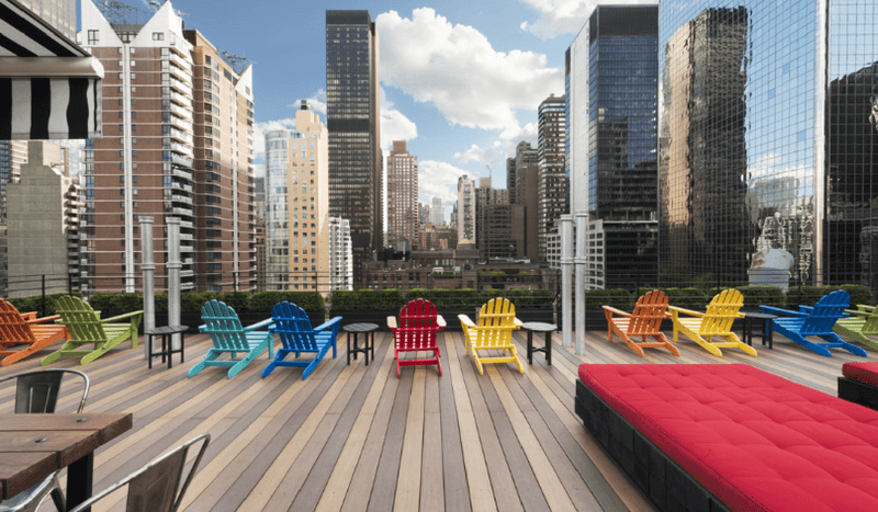Pod Hotel 51 Rooftop NYC