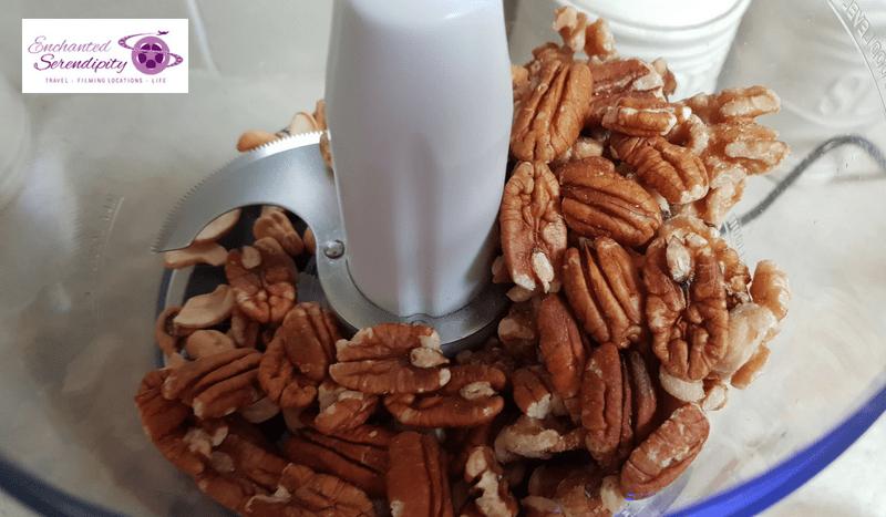 Healthy Chocolate Cake - Grind Up Cashews, Walnuts & Pecans