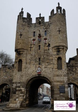 Micklegate Entrance Walls