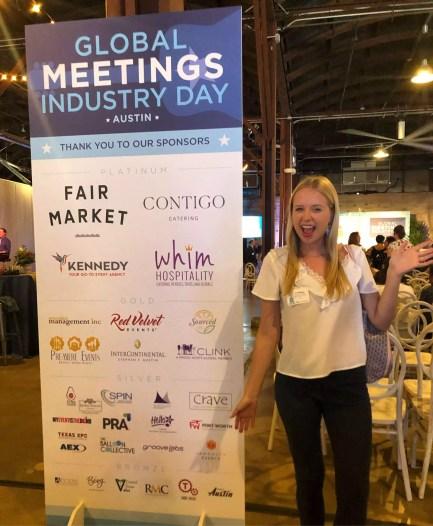Enchanted Springs Ranch Employee at Global Meetings Industry Day 2019!