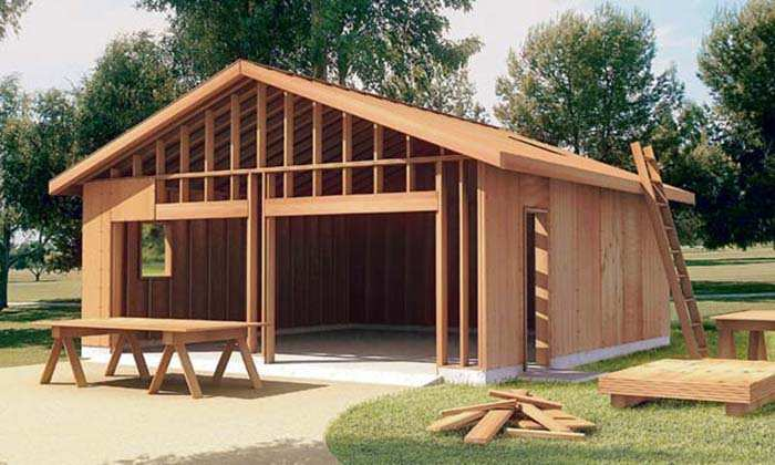 devis construction garage prix de