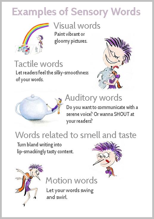 About Language Examples Sense About Vivid Five