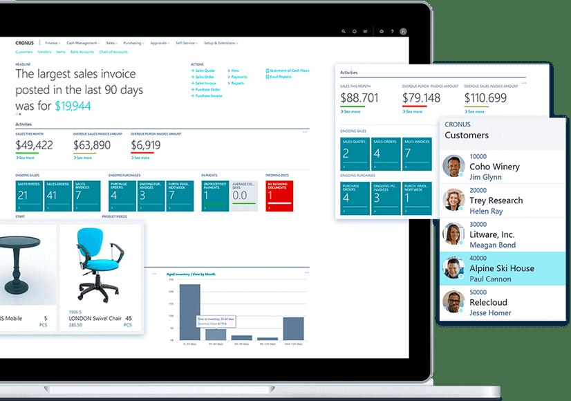 enCloud9 | Microsoft Dynamics 365 CRM Consultants Dynamics 365 for Business Central