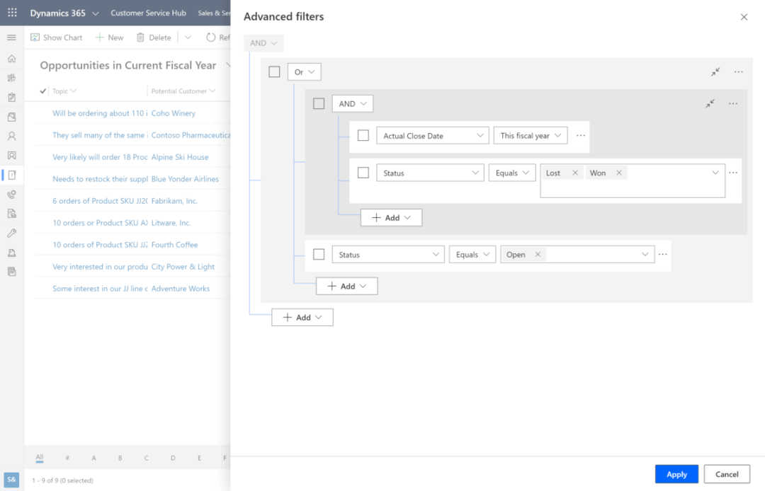 enCloud9 | Microsoft Dynamics 365 CRM Consultants User Experience Made Easier with Enhanced Filtering in Dynamics 365! Dynamics 365 Fundamentals Microsoft Dynamics 365 New Features in Dynamics 365