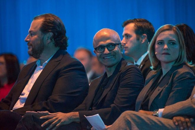 Microsoft's New Focus to Beat Salesforce