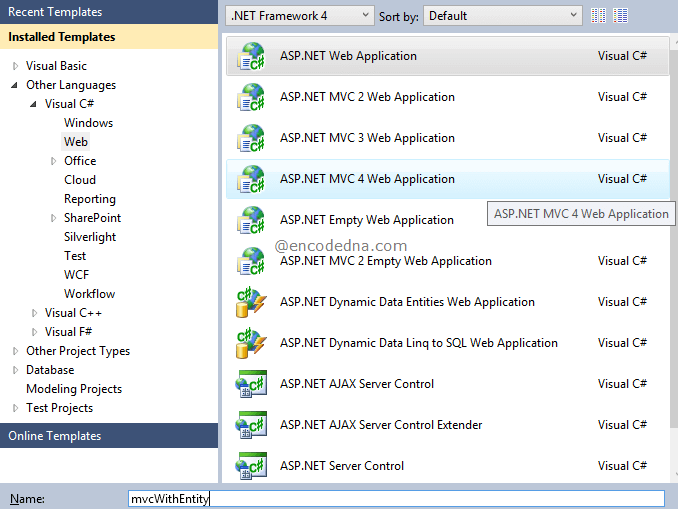 Crud Operations In Asp Net Mvc 4 With Entity Framework