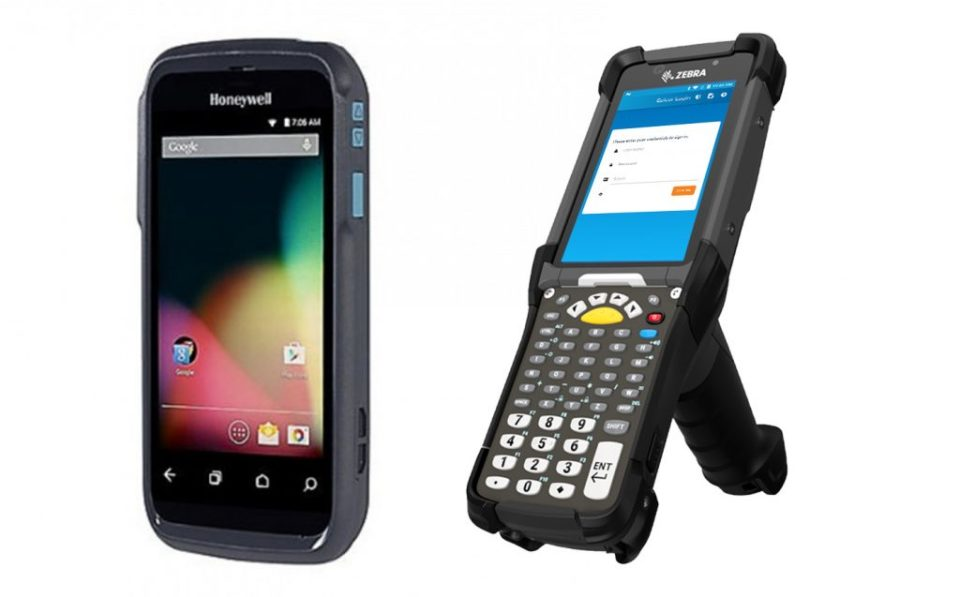 an image of Epicor Mobile Warehouse handheld devices