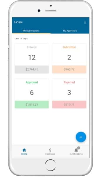 An image of the epicor mobile time and expense epicor erp cloud 10.2.500 update