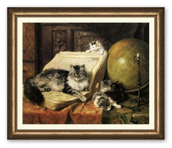 The Dream Trip or World Travelers by Henriette Ronner Knip
