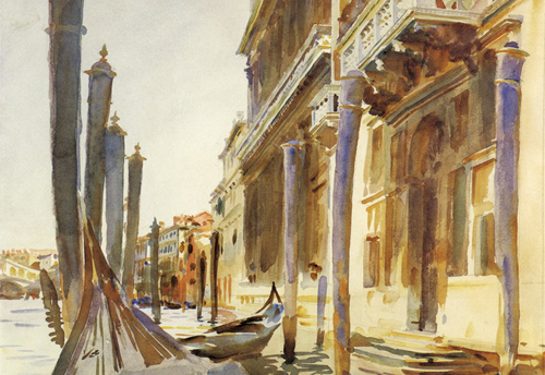 Grand Canal, Venice by John Singer Sargent