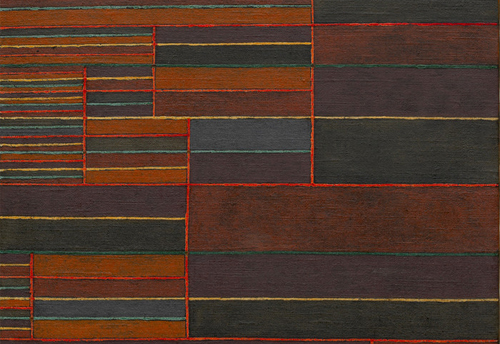 In the Current Six Thresholds by Paul Klee