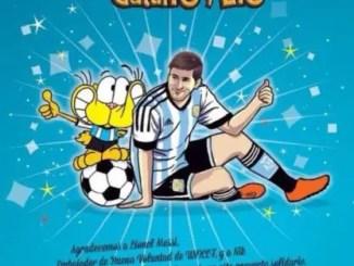 libro de Gaturro y Lio Messi