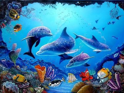 delfines animados