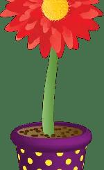 planta animada