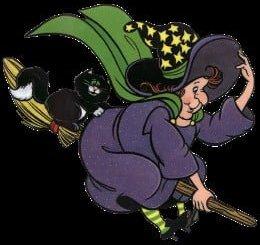 Poesías de brujas para niños pequeños