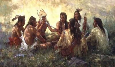 Leyenda de la tribu de los pies negros