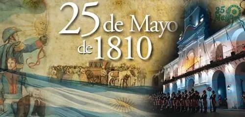 25 de Mayo de 1810 - Primera Junta de Gobierno - Argentina