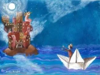cuentos infantiles sobre barcos de papel