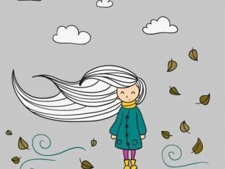 Poesía inspirada en una niña