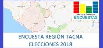 Encuesta Gobierno Regional de Tacna – Setiembre 2018