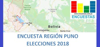 Encuesta Gobierno Regional de Puno – Setiembre 2018