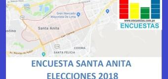 Encuesta Alcaldía de Santa Anita – Setiembre 2018
