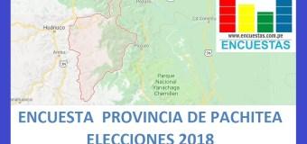 Encuesta Alcaldía Provincial de Pachitea – Agosto2018