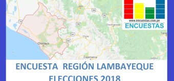 Encuesta Gobierno Regional de Lambayeque – Setiembre 2018