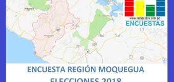 Encuesta Gobierno Regional de Moquegua – Junio 2018
