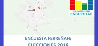 Encuesta Alcaldía de Ferreñafe, Setiembre 2018