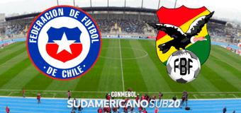 Sudamericano Sub-20: Chile 1 – 1  Bolivia EN VIVO
